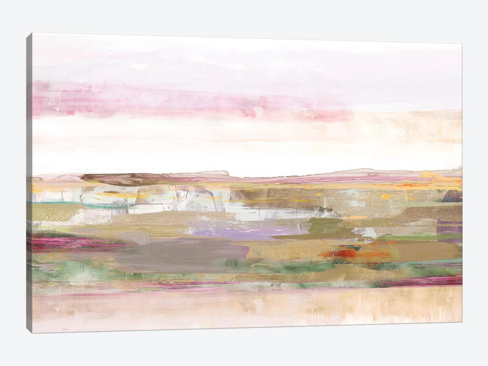 Pink Landscape by PI Galerie 1-piece Canvas Wall Art