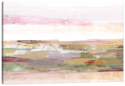 Pink Landscape Canvas Art Print