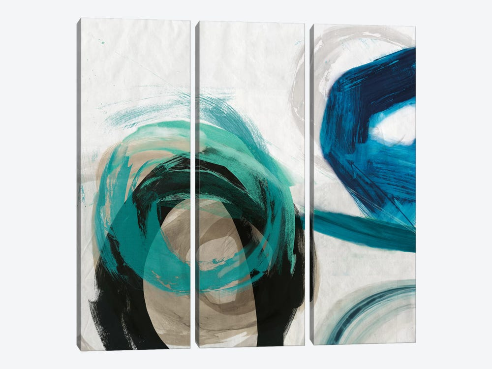 Play I by PI Galerie 3-piece Canvas Print