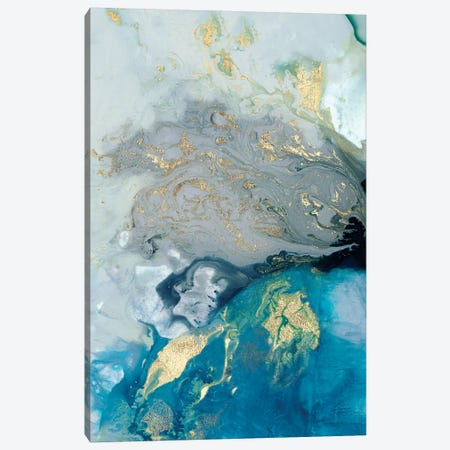 Ocean Splash I Canvas Print #PIG1} by PI Galerie Canvas Art