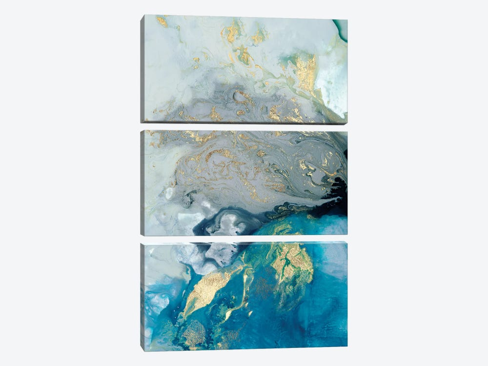 Ocean Splash I 3-piece Art Print