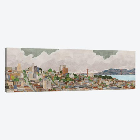 San Francisco Canvas Print #PIG210} by PI Galerie Art Print