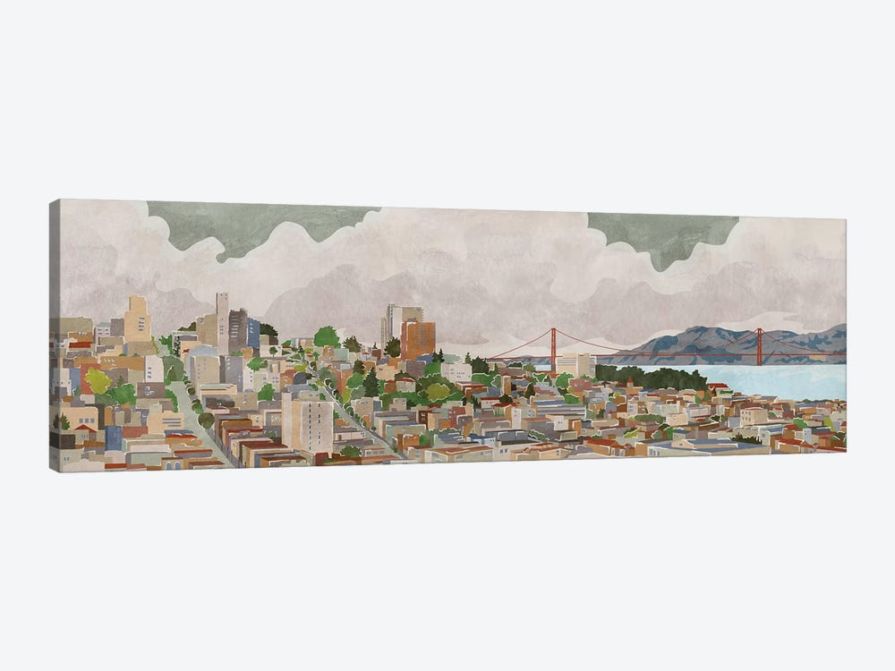 San Francisco by PI Galerie 1-piece Canvas Art Print