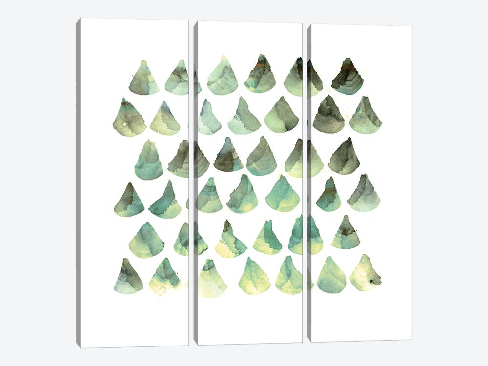 Scales by PI Galerie 3-piece Canvas Wall Art