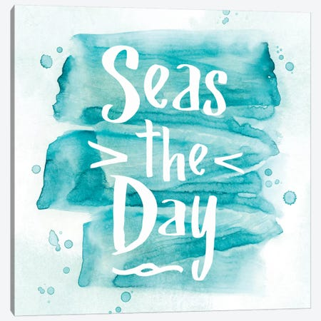 Seas The Day Canvas Print #PIG217} by PI Galerie Canvas Wall Art