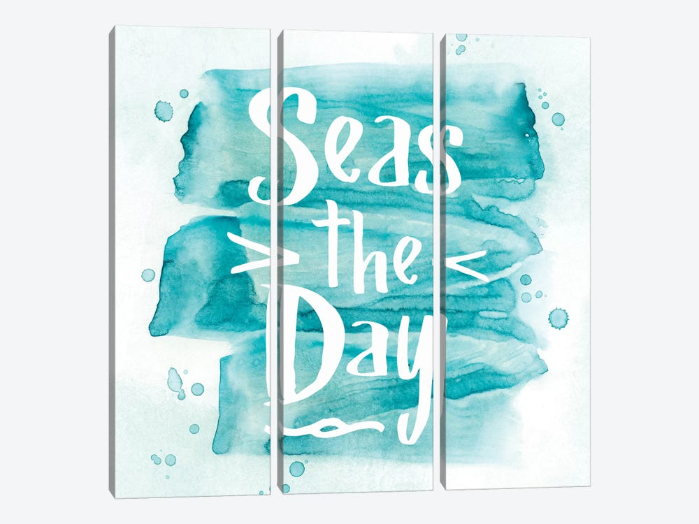 Seas The Day by PI Galerie 3-piece Canvas Wall Art