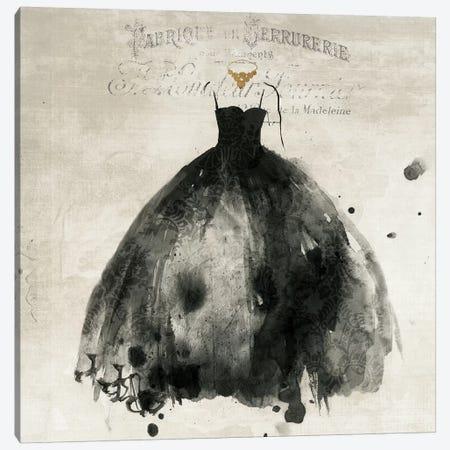 Black Dress I Canvas Print #PIG21} by PI Galerie Canvas Wall Art
