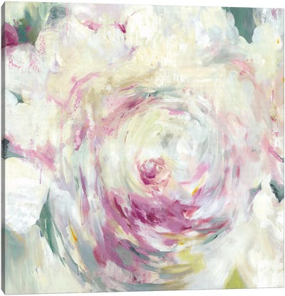 Shabby Peony I Canvas Art Print