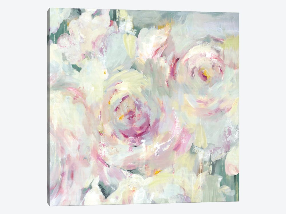 Shabby Peony II by PI Galerie 1-piece Canvas Wall Art