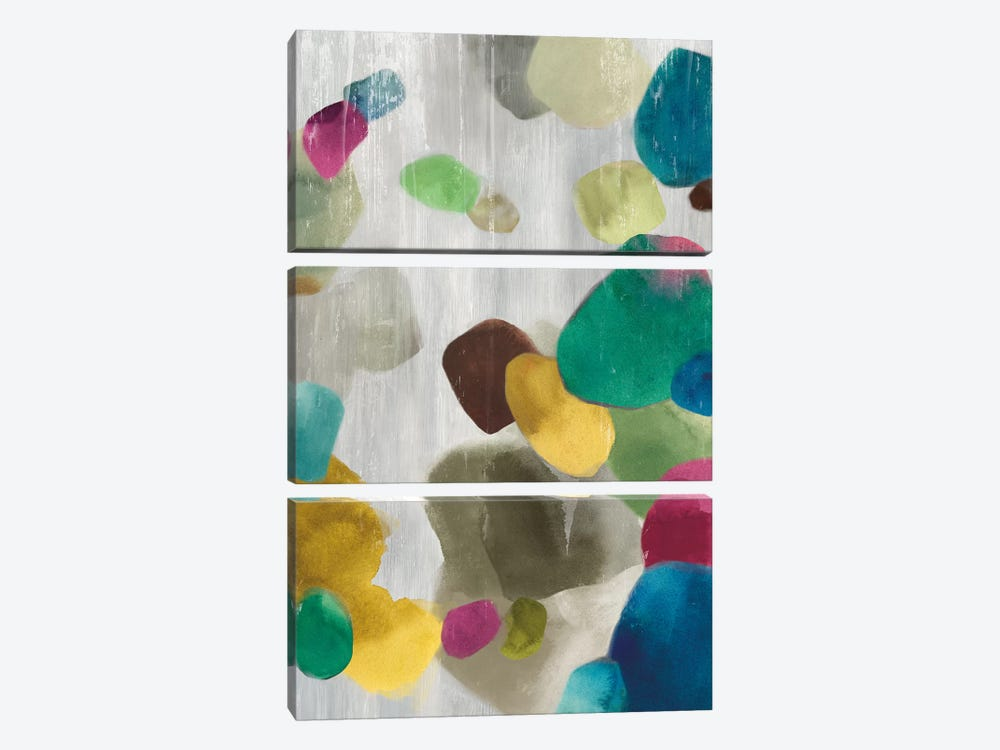 Shadow Pebbles II by PI Galerie 3-piece Canvas Wall Art