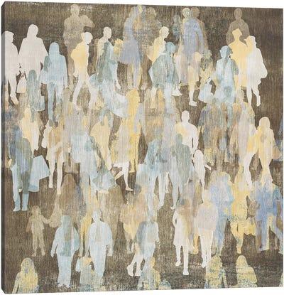 Silhouettes I Canvas Art Print