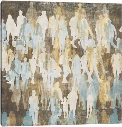 Silhouettes II Canvas Art Print