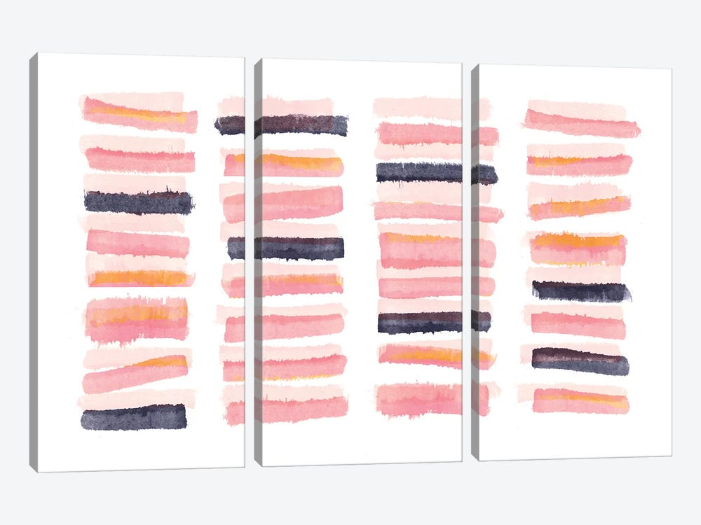 Slats by PI Galerie 3-piece Canvas Wall Art