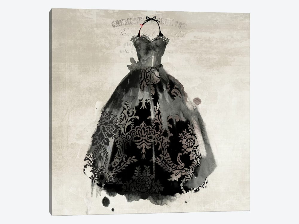 Black Dress II by PI Galerie 1-piece Canvas Wall Art