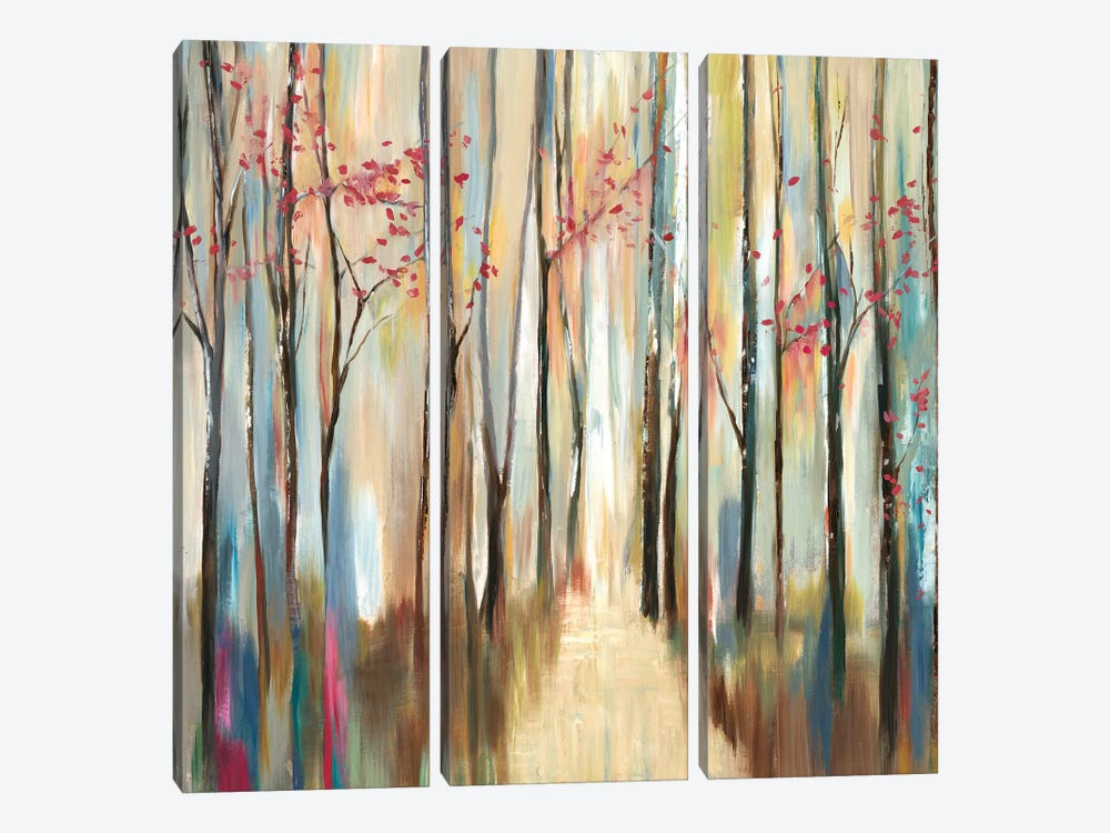 Sophie's Forest by PI Galerie 3-piece Canvas Wall Art