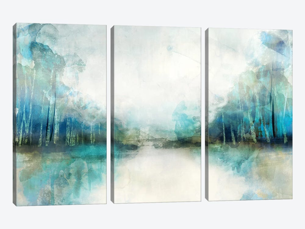 Subtle Horizon 3-piece Canvas Print