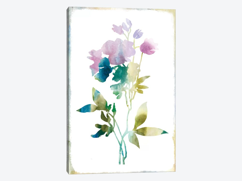 Summer Botanical II by PI Galerie 1-piece Canvas Print