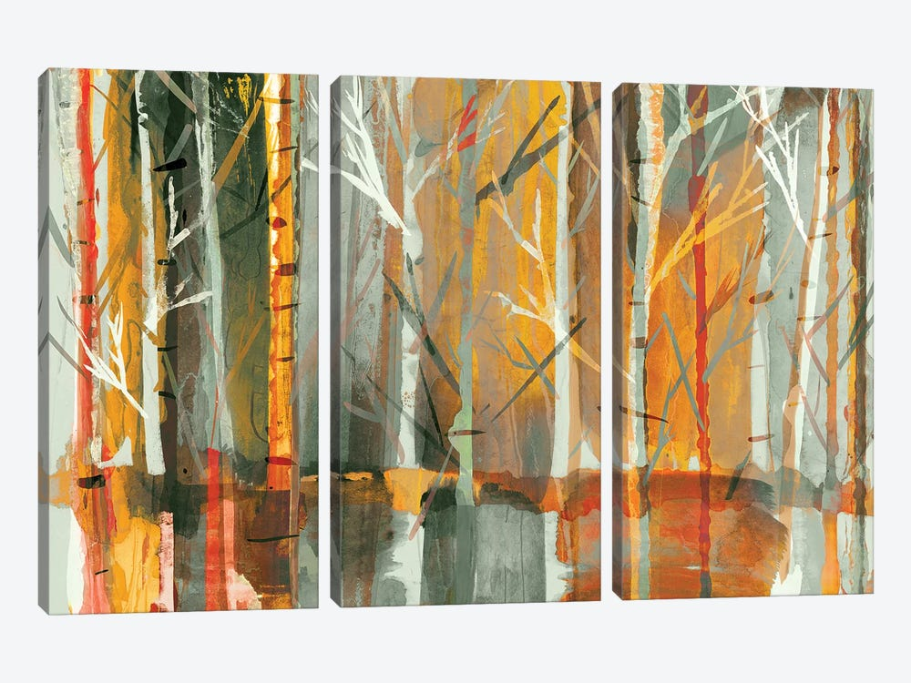 Sunset by PI Galerie 3-piece Canvas Artwork
