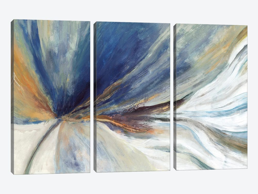Traced by PI Galerie 3-piece Canvas Artwork