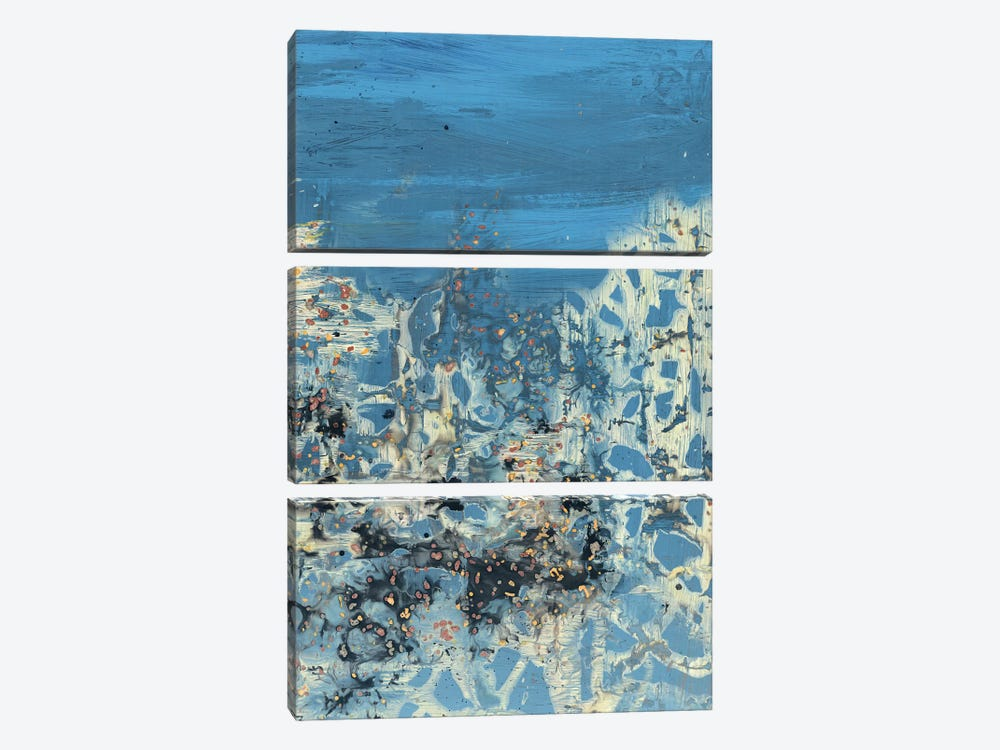 Treading Water I by PI Galerie 3-piece Canvas Art Print