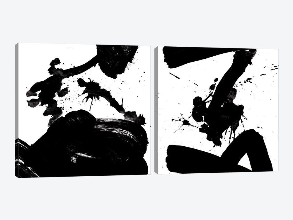Ink Blot Diptych by PI Galerie 2-piece Canvas Art Print