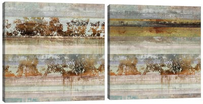 Inverse Memory Diptych Canvas Art Print