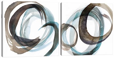 Overture Diptych Canvas Art Print