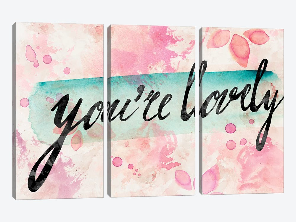 You Are Lovely by PI Galerie 3-piece Art Print