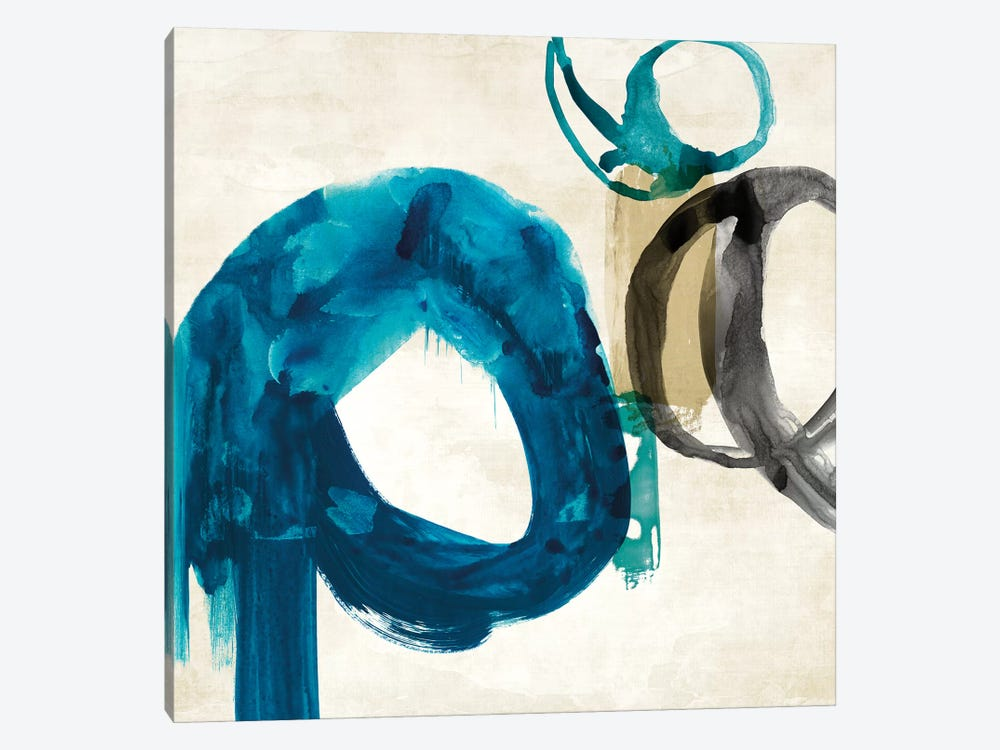 Blue Ring I by PI Galerie 1-piece Canvas Art Print