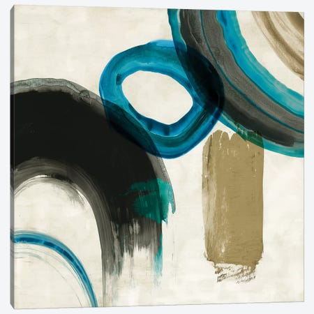 Blue Ring II Canvas Print #PIG31} by PI Galerie Art Print