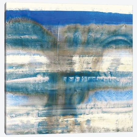 Blue Swim I 3-Piece Canvas #PIG32} by PI Galerie Canvas Art Print