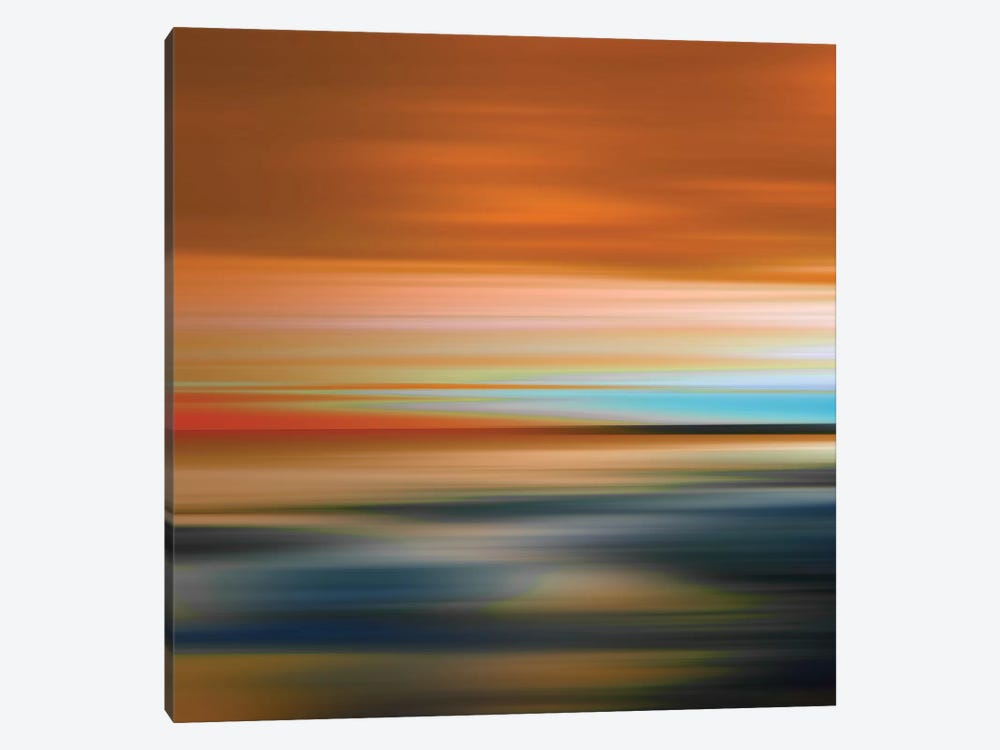 Blurred Landscape I by PI Galerie 1-piece Canvas Art Print
