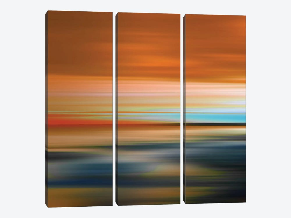 Blurred Landscape I by PI Galerie 3-piece Canvas Art Print