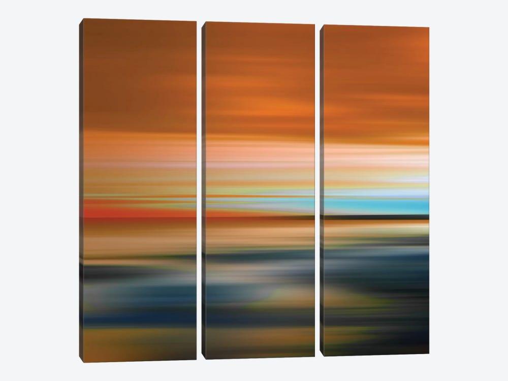 Blurred Landscape I by PI Galerie 3-piece Canvas Art Print