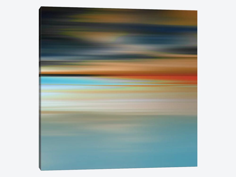 Blurred Landscape II by PI Galerie 1-piece Canvas Art