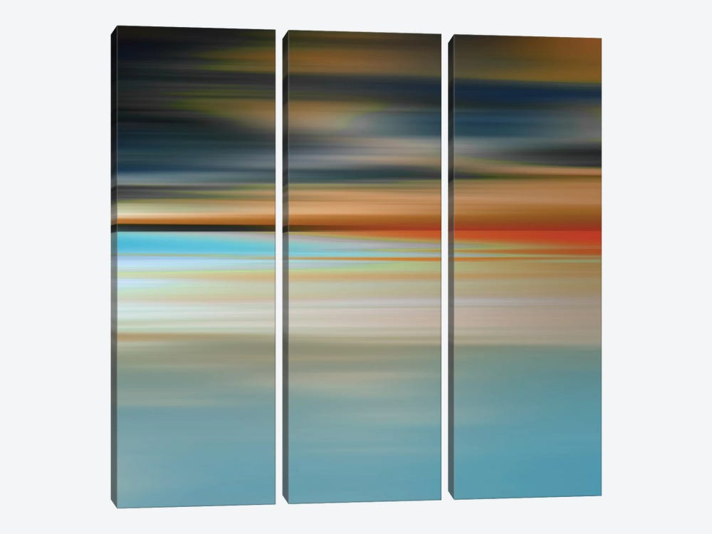 Blurred Landscape II by PI Galerie 3-piece Canvas Wall Art