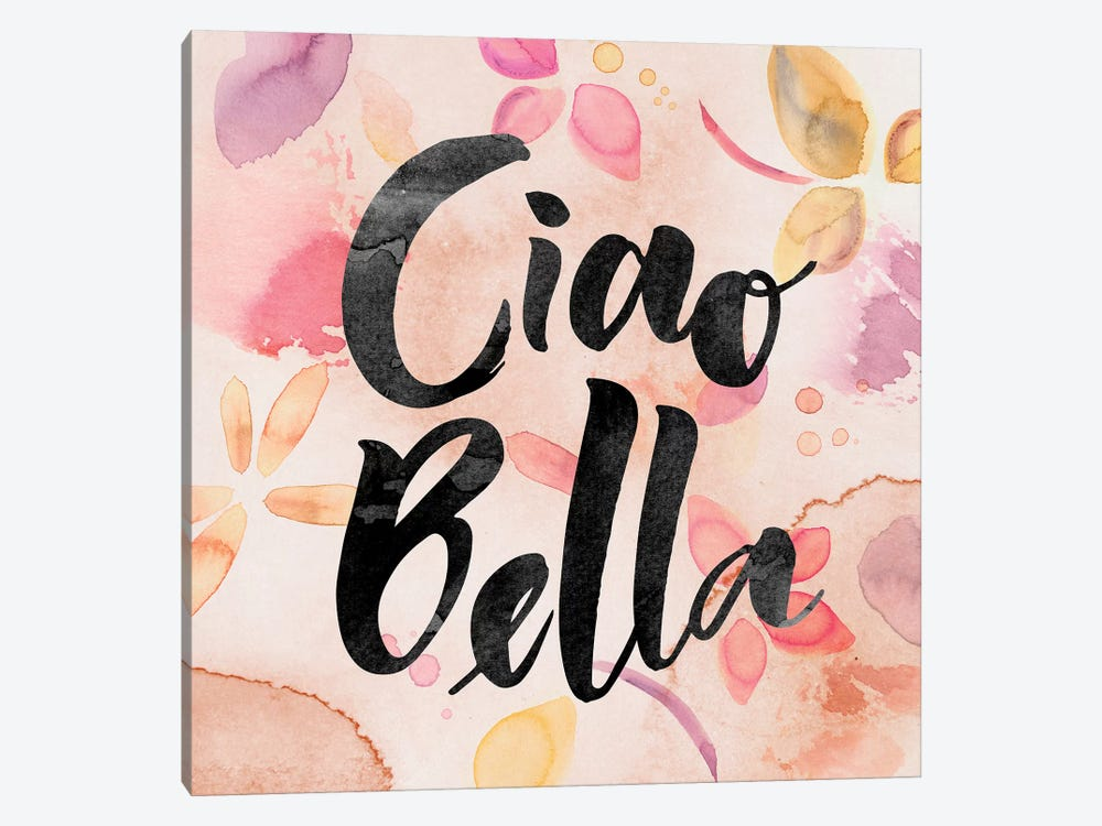 Ciao Bella by PI Galerie 1-piece Canvas Wall Art