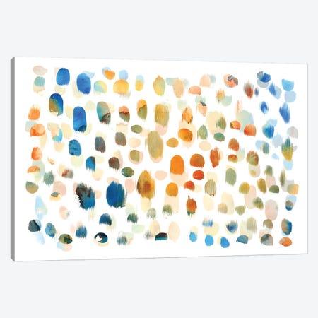 Colour Dabs Canvas Print #PIG51} by PI Galerie Canvas Art Print