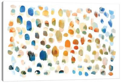 Colour Dabs Canvas Art Print