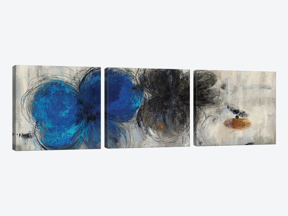 Deserted Memory by PI Galerie 3-piece Canvas Artwork