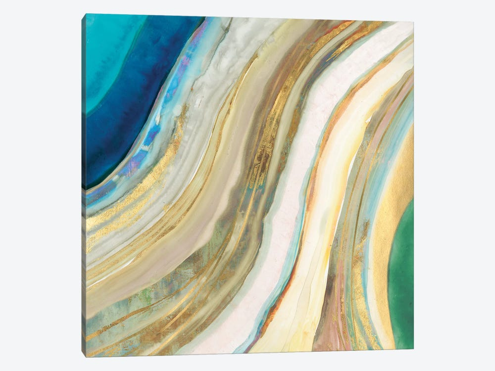 Agate I by PI Galerie 1-piece Canvas Art Print