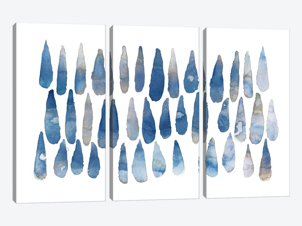 Drops by PI Galerie 3-piece Canvas Artwork