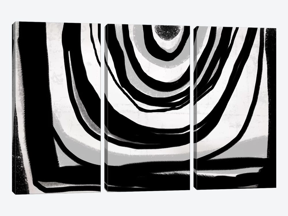 Edges II by PI Galerie 3-piece Canvas Print
