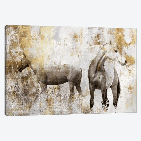 Equestrian Gold II Canvas Print #PIG65} by PI Galerie Art Print