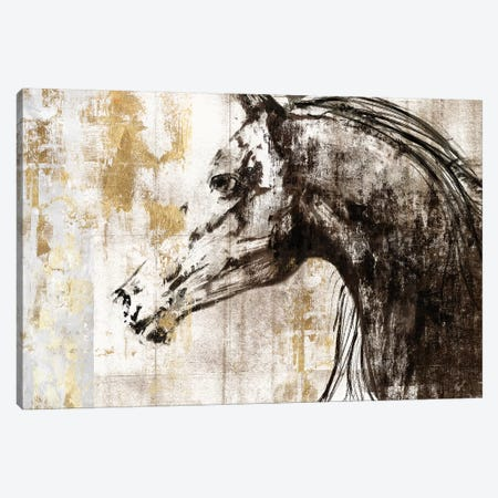 Equestrian Gold IV Canvas Print #PIG67} by PI Galerie Art Print