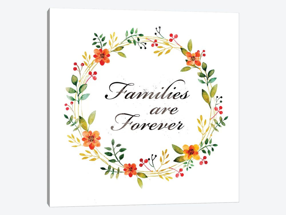 Families Are Forever by PI Galerie 1-piece Canvas Art