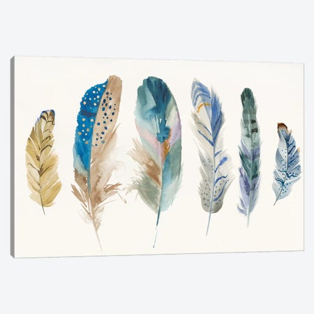 Feather Weather I Canvas Print #PIG76} by PI Galerie Canvas Artwork