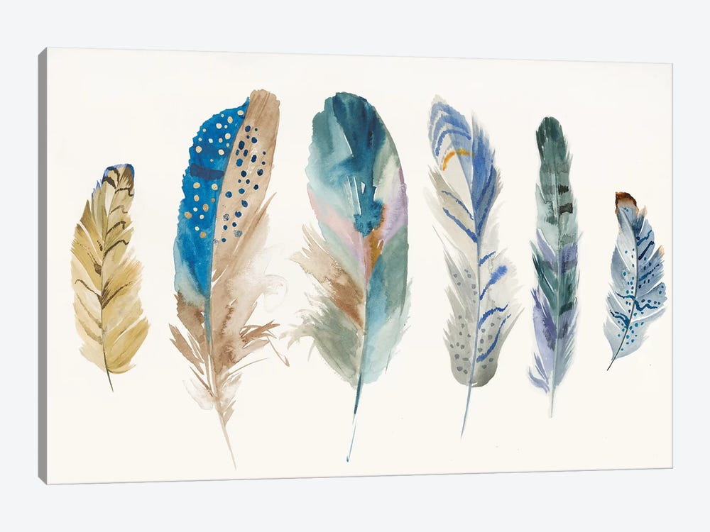 Feather Weather I by PI Galerie 1-piece Art Print