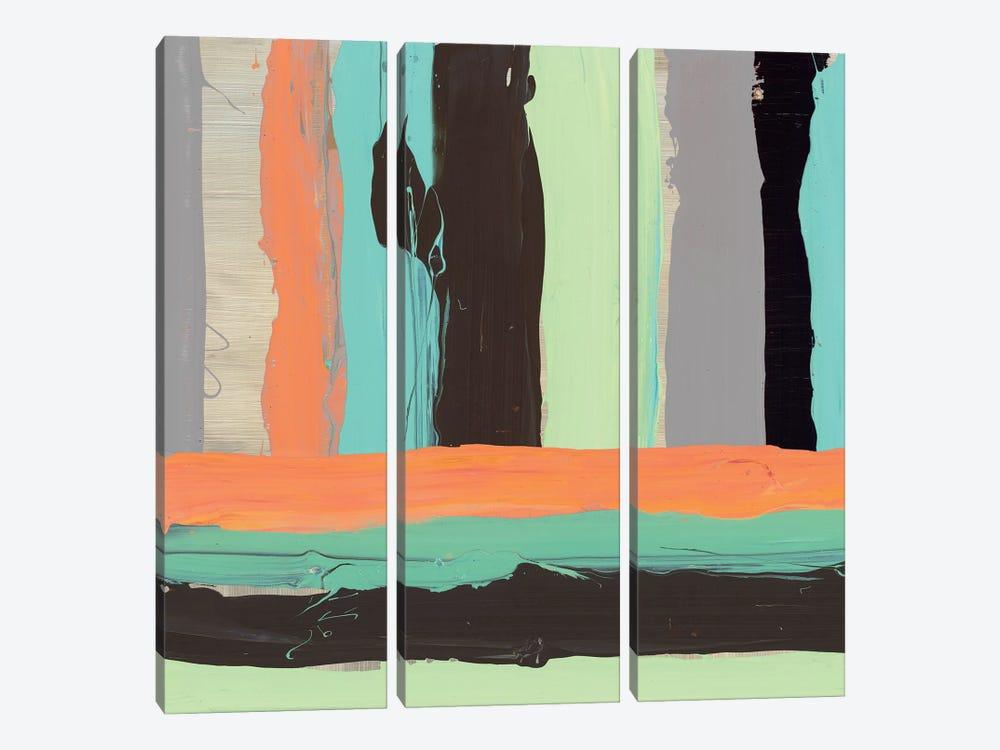 Alt Stripes I by PI Galerie 3-piece Canvas Art Print