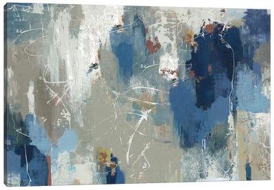 Fluttered Canvas Art Print